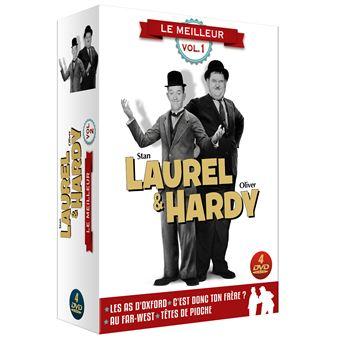 Laurel et HardyCoffret Laurel et Hardy Le Meilleur Volume 1 DVD