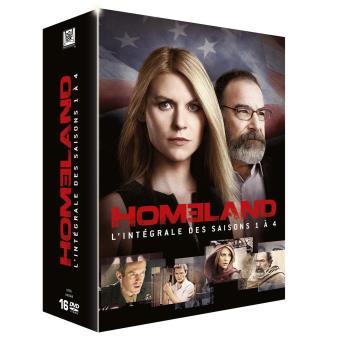 HomelandSaisons 1 à 4 - Coffret DVD