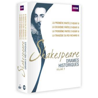 Coffret Shakespeare : Drames historiques Volume 1 DVD