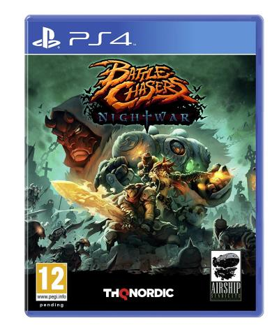 Battle Chasers Nightwar PS4