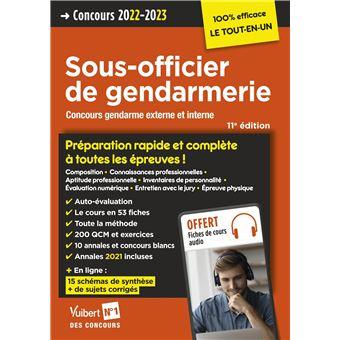 17ab15fd74f Concours Sous-officier de gendarmerie Catégorie B Préparation rapide et  complète à toutes les épreuves