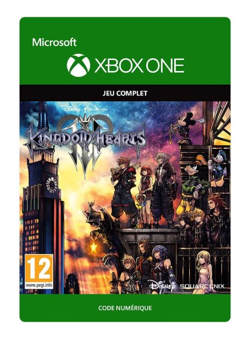Code de téléchargement Kingdom Hearts III Xbox One