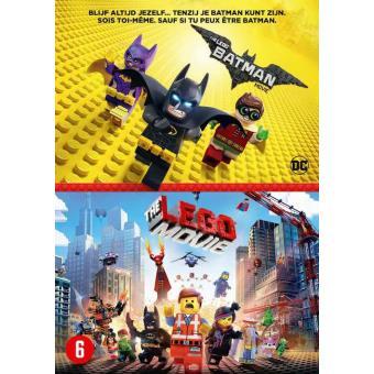 The Lego Batman Movie + The Lego Movie DVD