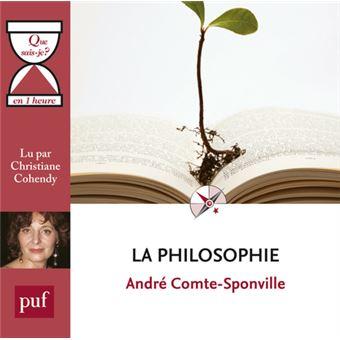 « La philosophie » en une heure CD