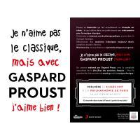 Je n'aime pas le classique mais avec Gaspard Proust j'aime bien ! Coffret