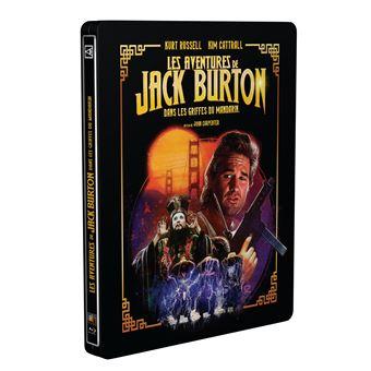 Les aventures de Jack Burton dans les griffes du mandarin Edtion Limitée Collector Steelbook Blu-ray