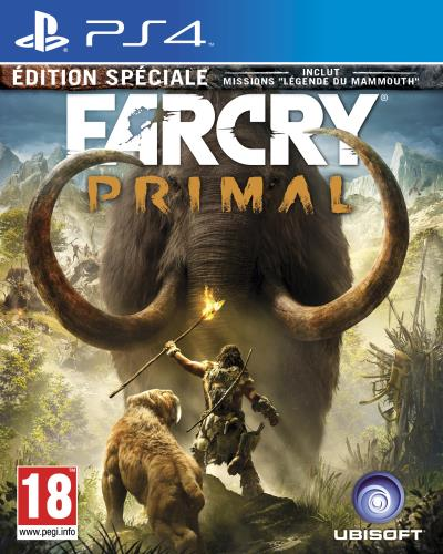 Far Cry Primal Edition Spéciale PS4