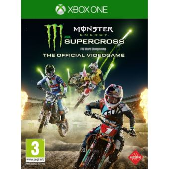 Monster Energy Supercross - Nintendo Switch