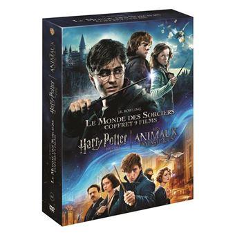 Harry PotterCoffret Harry Potter L'intégrale Les Animaux Fantastiques DVD