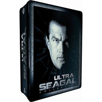 ULTRA SEAGAL-COFFRET ED LIM-8 DVD-PIEGE A GRANDE VITESSE