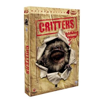 Coffret Critters 4 films DVD