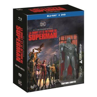 SupermanCoffret La Mort de Superman et Superman Returns Blu-ray