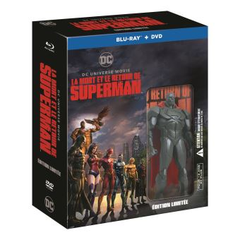 SupermanCoffret La mort et le retour de Superman Blu-ray