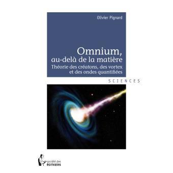 Omnium, au-delà de la matière