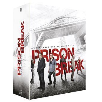 Prison BreakPrison Break Saisons 1 à 5 DVD