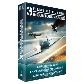 Coffret Guerre 3 Films DVD