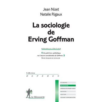 Sociologie de erving goffmam