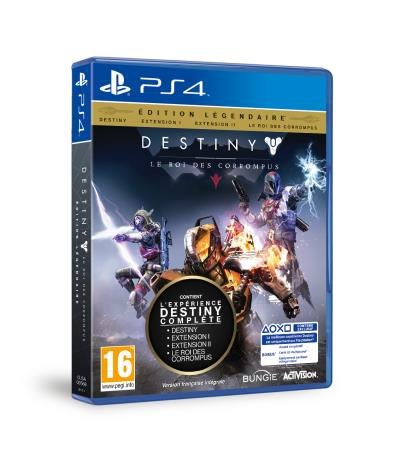 Destiny Le Roi des Corrompus PS4 - PlayStation 4