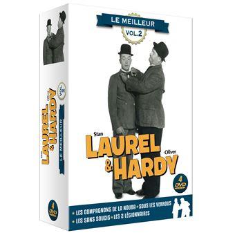 Laurel et HardyCoffret Laurel et Hardy Le Meilleur Volume 2 DVD