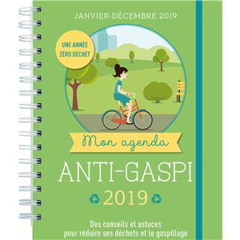 Mon agenda anti gaspi 2019