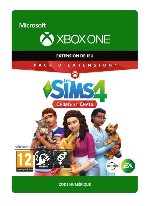 Code de téléchargement Les Sims 4: Chiens et chats Xbox One