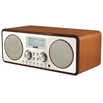 radio sans fil cgv dr30i internet fm dab radio achat prix fnac. Black Bedroom Furniture Sets. Home Design Ideas