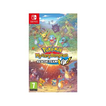 Pre-order  Pokemon Mystery Dungeon: Rescue Team DX NL SWITCH Levering vanaf 06/03