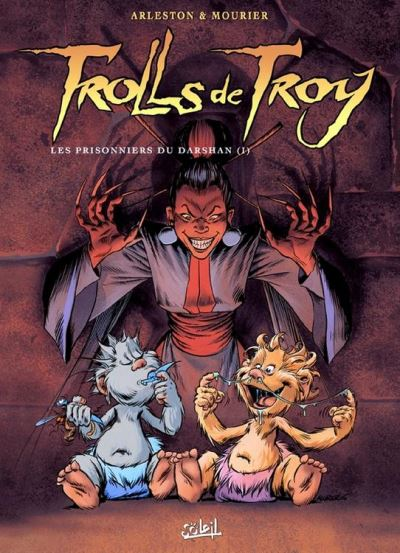 Trolls de Troy T09 - Les prisonniers du Darshan - 9782302026575 - 7,99 €