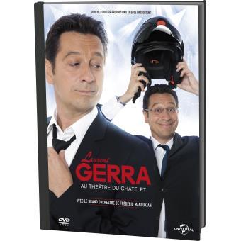 Laurent Gerra au Théâtre du Châtelet DVD + UV