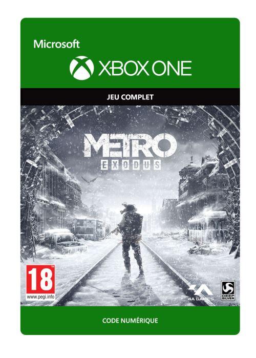 Code de téléchargement Metro Exodus Xbox One