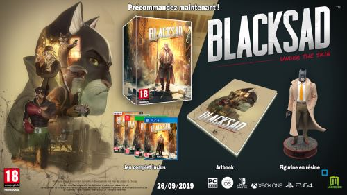 Blacksad Under the Skin Edition Collector Nintendo Switch