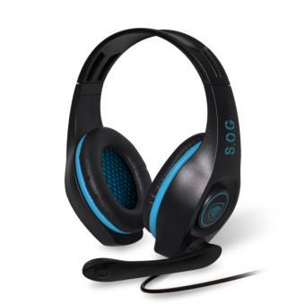 Casque Gaming Spirit Of Gamer Pro Sh5 Pour Ps4 Noir Et Bleu