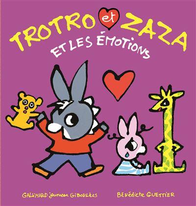 Trotro et Zaza et les émotions