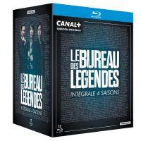 Coffret Le Bureau des Légendes Saisons 1 à 4 Blu-ray