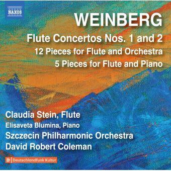 Concertos pour flûte Numéros 1 et 2 12 Pièces pour flûte et orchestre