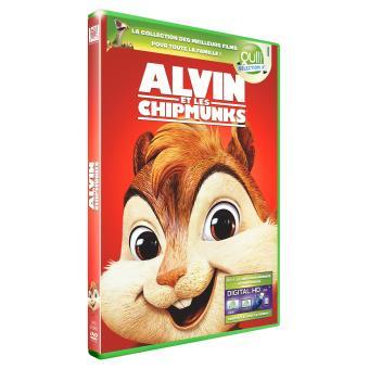 Alvin et les Chipmunks DVD