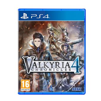 VALKYRIA CHRONICLES 4 DAY ONE EDITION FR/NL PS4