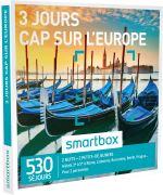 SMAR Coffret cadeau Smartbox 3 jours Cap sur l´Europe