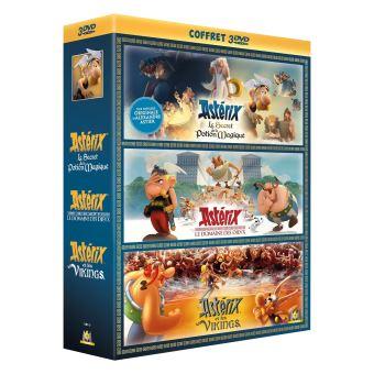 AstérixCoffret Astérix 3 Films DVD
