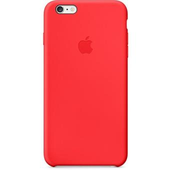 coque iphone 6 silicone apple rouge