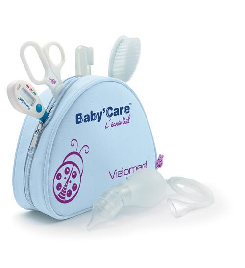 Trousse de toilette Baby'care Visiomed Baby L'essentiel Trousse de 5 accessoires