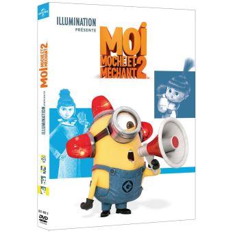 Moi, moche et méchantMoi, moche et méchant 2 DVD