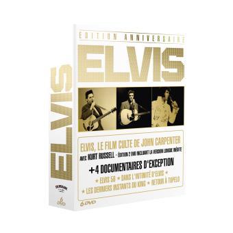 80ème anniversaire Elvis - Coffret 6 DVD
