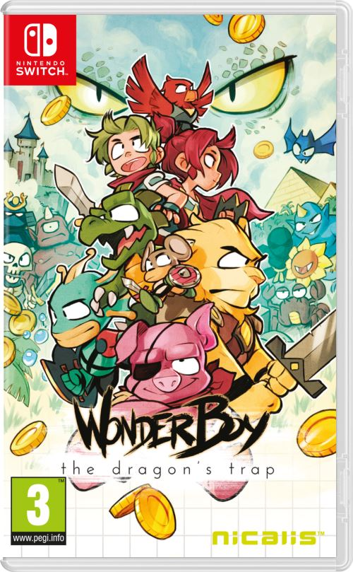 [PRECO] Wonder Boy The Dragon's Trap Nintendo switch et ps4 1505-1