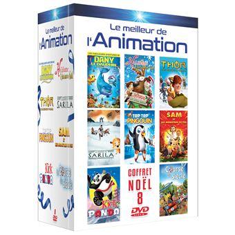 Coffret Le Meilleur de l'animation 8 Films DVD