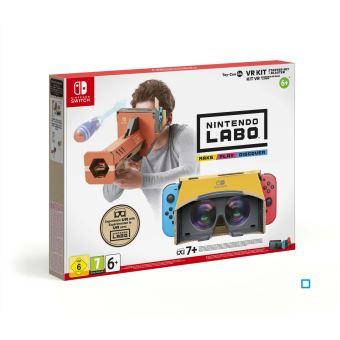 Toy-Con 4 Kit VR Nintendo Labo Ensemble de base + Canon pour Nintendo Switch