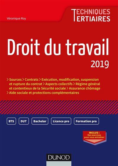 Droit du travail 2019 - 9782100795475 - 9,99 €