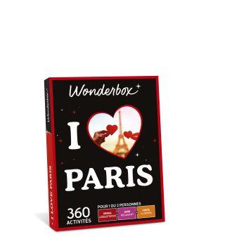 Mini Coffret Cadeau Wonderbox I Love Paris Coffret Cadeau Achat