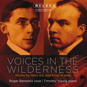 Voices in the wilderness : Oeuvres pour alto et piano