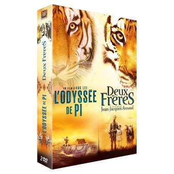 L'Odyssée de Pi - Deux frères Coffret 2 DVD